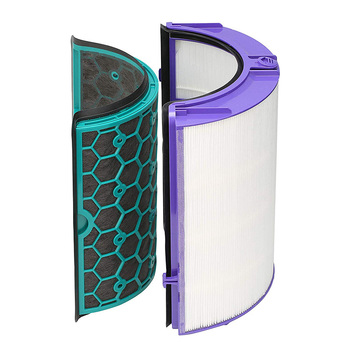 1 Set Replacement Filter System Sealed Two Stage Portable for Dyson TP04 DP04 HP04 DNJ998