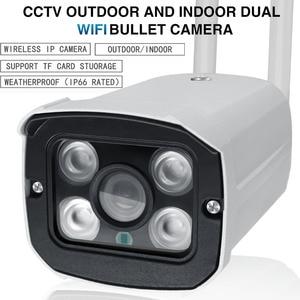 Image 3 - 720P 1080P חיצוני IP חיצוני Wifi CCTV Bullet אודיו מצלמה עמיד למים מלא מתכת ראיית לילה Yoosee App
