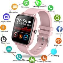 Lige 2021 moda relógio inteligente senhoras freqüência cardíaca pressão arterial multifuncional esporte relógio masculino mulher à prova dwaterproof água smartwatch