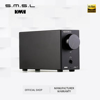 SMSL SAP 1 Mini Portable Desktop Headphones Amplifier 110V/220V PC MP3 6.5mm Output Interface with 6.5mm to 3.5mm Interface