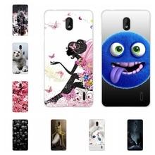 For Nokia 1 Plus Cover Ultra Thin Soft TPU Silicone Phone Case Paris Patterned Bumper Funda