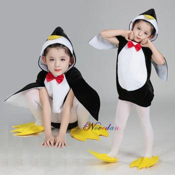 Baby Halloween Costume For Kids Madagascar Penguin Animal Cosplay Clothing Birthday Party Carnival Christmas