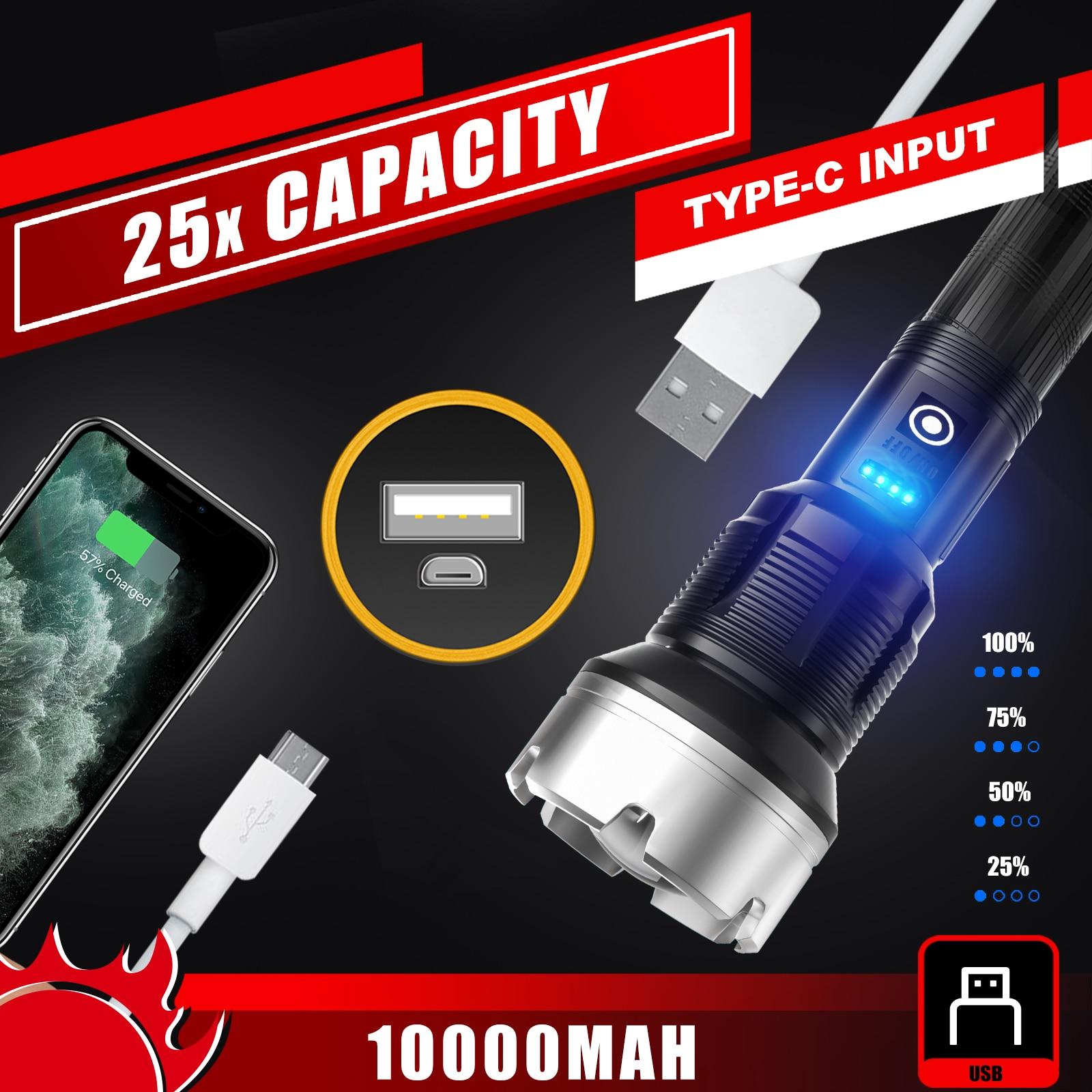 lanterna poderosa led warsun xf226 5000 01