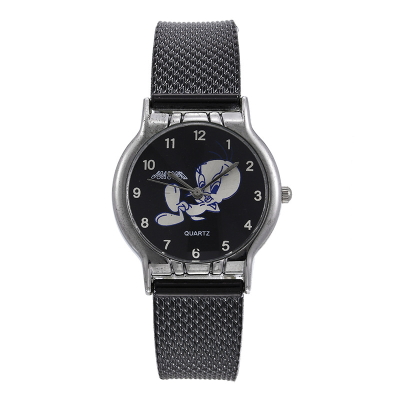 Sell Like Hot Cakes Ebey 2020 Watches Han Edition Alloy Thin Mesh Belt Joker Ladies Watch, Quartz Watch