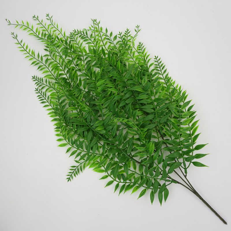 Simulation pleureur saule osier plastique maison mariage suspendus artificiel vert plante mur vigne décoration fausse fleur