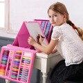 176 шт креативная краска ing краска для граффити набор кистей художественные наборы с станковая живопись доска для рисования для детей игрушк...
