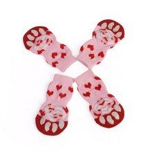 Товары для домашних животных милые носки для домашних животных носки для кошек носки для щенков мягкая удобная обувь и носки 4 шт
