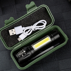 Built In 14500 Rechargeable Battery XP-G Q5 Penlight Waterproof Led Flashlight Torch Lamp New 2000 Lumens Shock Resistant Light