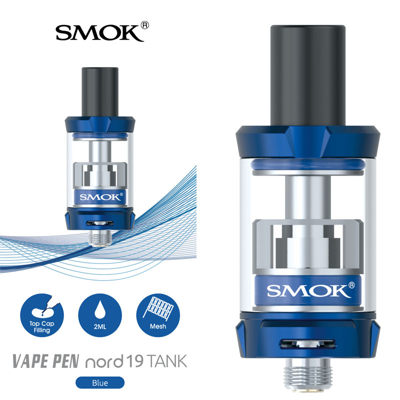 SMOK vape pen nord 19 tank atomizer electronic Cigarette tank for ...