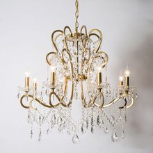 American country LED chandelier living room dining room lamp retro white bedroom crystal chandelier american country pastoral living room chandelier led lamp bedroom iron chandelier lighting rose chandeliers