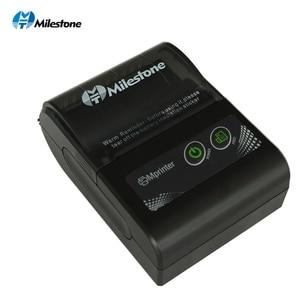 Image 2 - Milestone Bluetooth Printer Wireless Receipt bill Thermal Printer 58MM Mini Portable pocket for Windows Android IOS MHT P10