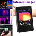 Heiße Handheld Thermograph Kamera Infrarot Temperatur Sensor Tragbare Digitale Thermische Imager PLD-in Temperaturinstrumente aus Werkzeug bei
