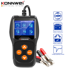 Car-Battery-Tester Charging-Diagnostic KONNWEI KW600 12-Volts 12V for The-Car Quick-Cranking