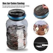 Jar Money-Saving-Box Coin Piggy-Bank Gbp-Money EURO Counting-Coin Electronic for USD