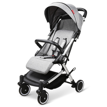 Lightweight Baby Stroller Portable Can Lie Down with Four-wheel Shock Absorber Stroller Folding High View Baby Cart 5 5kg high landscape baby stroller lightweight baby strollers foldable portable four wheel stroller baby carrier pushchair cart