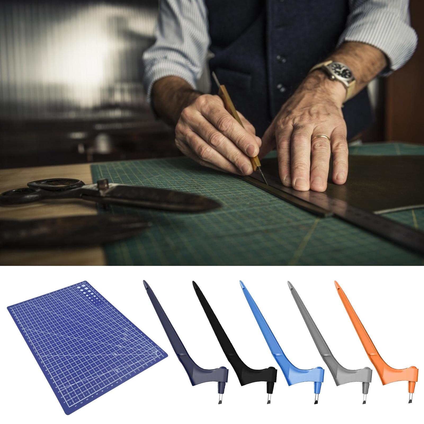 Арт режущего инструмента ремесленный резак 360 градусов вращение Нержавеющаясталь ручной гравировки Бумага режущий инструмент ручной иск...