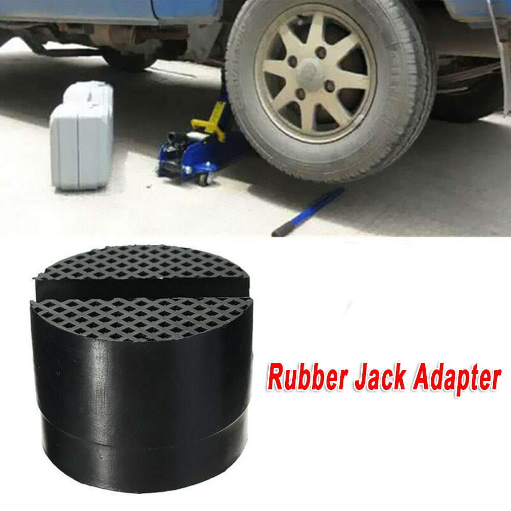 Square Universal Slotted Frame Rail Floor Jack Guard Adapter Pad Vehicle Repair