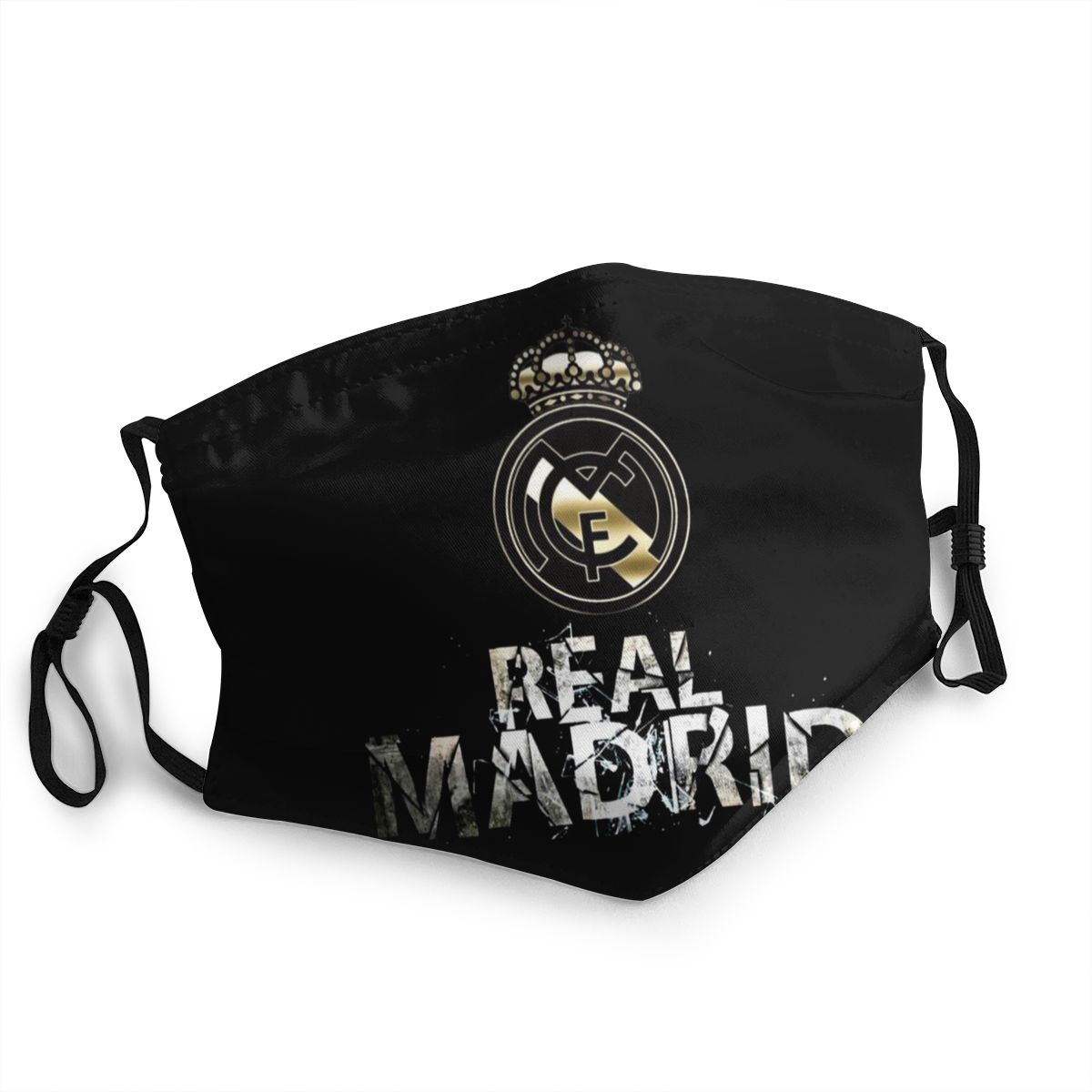 Cool Logo Mask Funny Mouth Mask  Real Madrided High Quality