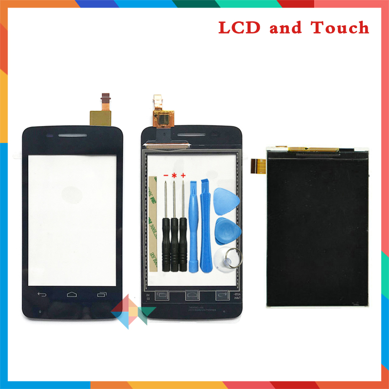 high quality 3.5'' For Alcatel One Touch Pixi <font><b>4007</b></font> 4007D 4007E OT4007 Lcd Display Screen + Touch Screen Digitizer Sensor image