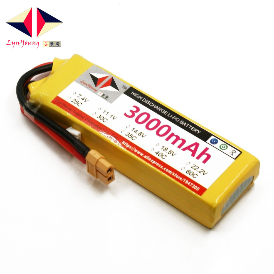 7.4V <font><b>3000mAh</b></font> 25C 30C 35C 40C 60C <font><b>2S</b></font> <font><b>Lipo</b></font> Battery For RC Boat Car Truck Drone Helicopter Quadcopter Airplane UAV image