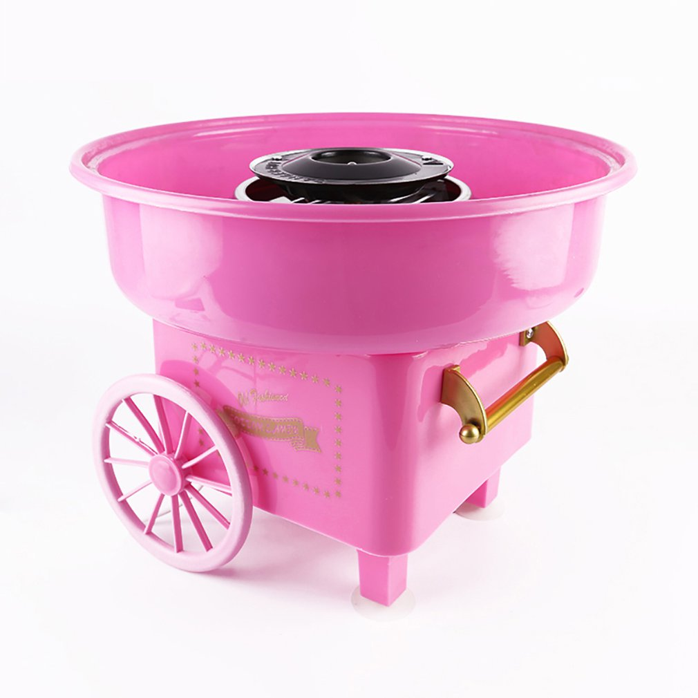 Retro Marshmallow Machine Mini Portable Household Cotton Candy Maker Machine Stylish Simple Cotton Candy Machine