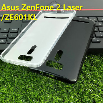 For Asus Zenfone 2 Laser 6.1 inch/ZE601KL Case protective Cover pudding Cover Matte Soft Case image