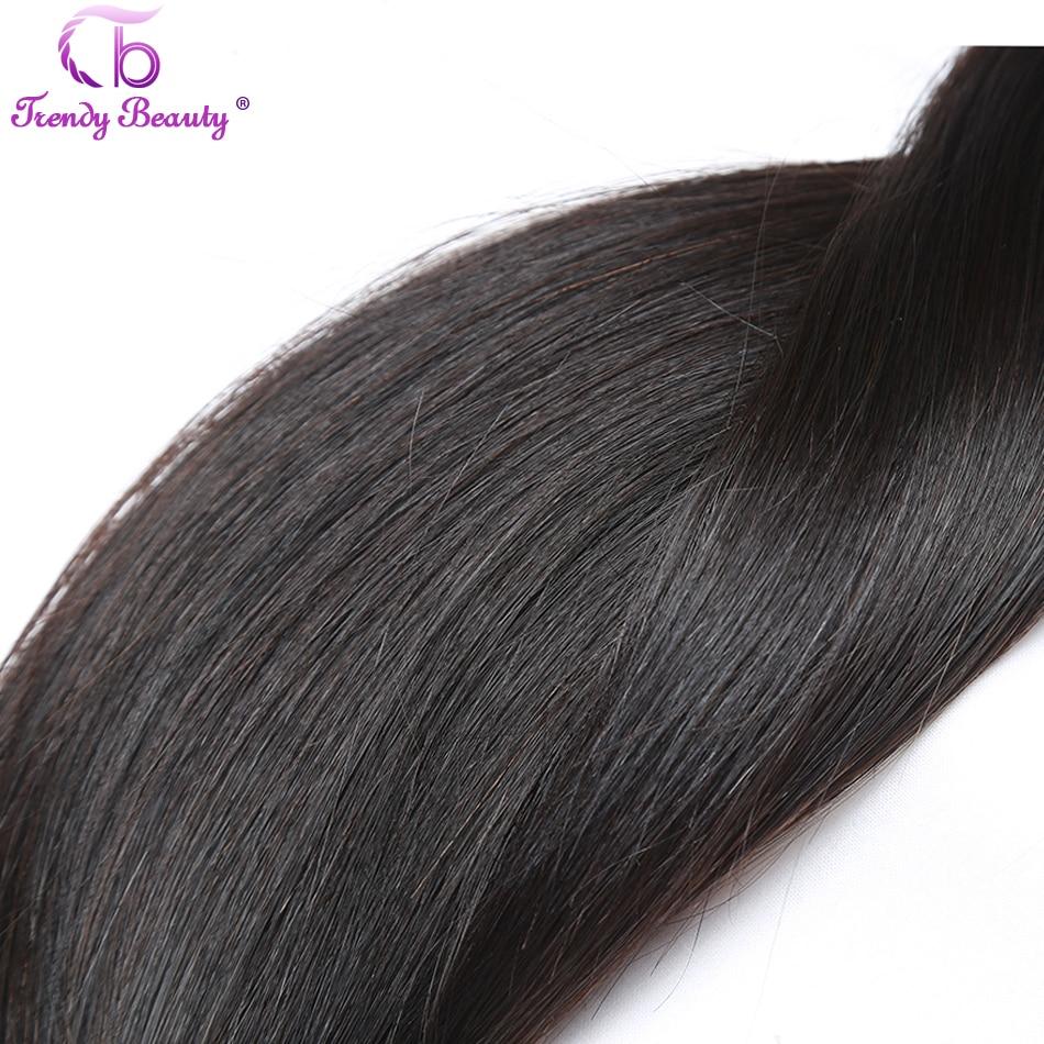 H4466628d56994b26a3db37627387be14q Trendy Beauty Peruvian straight hair 4 bundles with closure 100% human hair bundles with baby hair closure Middle/Three/Free