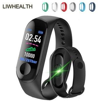 Cheap Smart Band Fitness Tracker Bracelet Smartband Step HR For IOS/Xiaomi/Honor PK Mi Band 3/4 Fit Bit 5 Not Xiomi pulseira