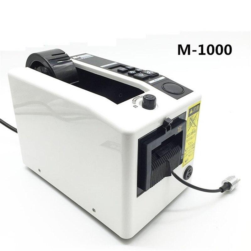 Automatische verpackung band dispenser M-1000 klebeband schneiden cutter maschine 220 V/110 V Büro Ausrüstung
