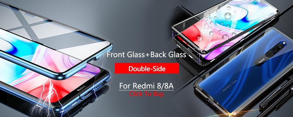 H4466a209ef7b49ab9cf1004b430d18f7l Armor Case for Redmi 8 8A Case Magnetic Car Phone Holder TPU+PC Bumper Cover on for Xiaomi Redmi 8 8A 8 A Global Version Case
