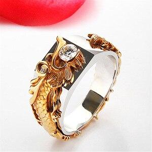 Кольцо из стерлингового серебра S925 пробы с бриллиантами для мужчин изящное ювелирное изделие для женщин Anillos Mujer Bizuteria натуральное серебро ...