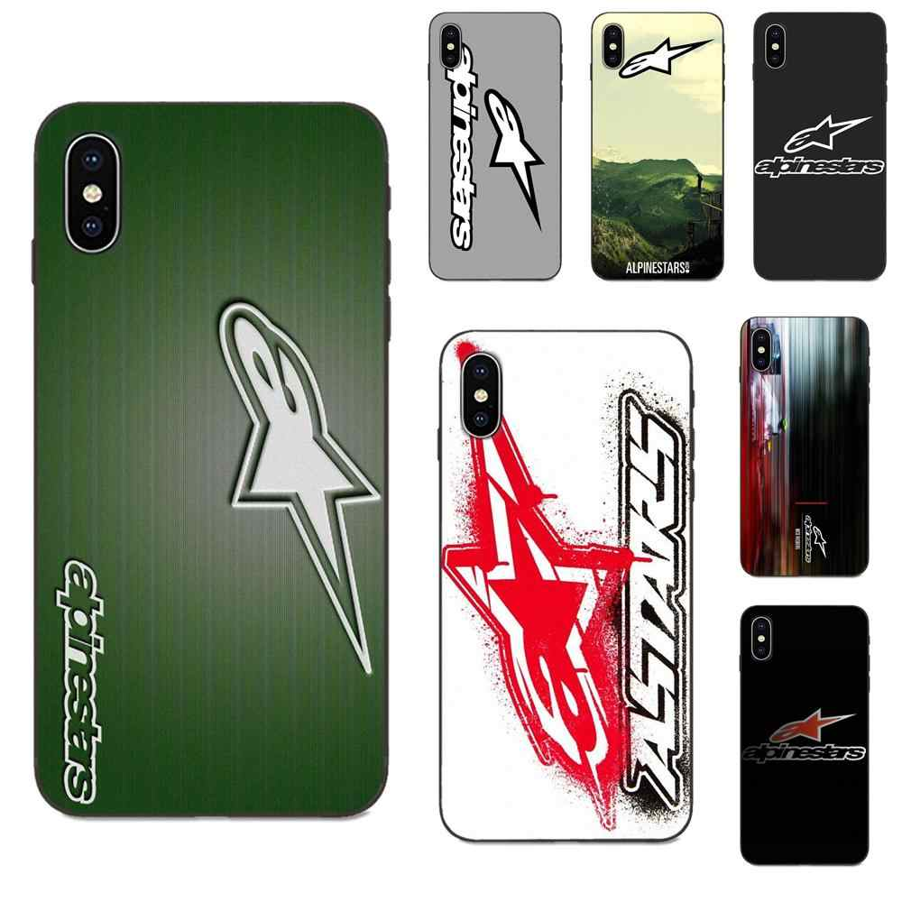 Multi Warna Mewah Ponsel Case Alpine Bintang untuk Apple Iphone X XS Max XR 4 4S 5 5S SE 6 6S 7 7 Plus