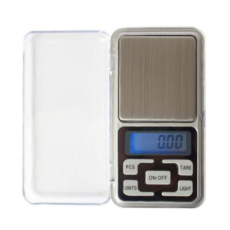 Mini Digital Scale 100/300/500g 0.01/0.1g High Accuracy Backlight Electric Pocket For Jewelry Gram Weight For Kitchen