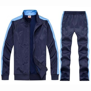 Image 4 - tracksuit men sport suits football training sweat suits school uniform jogging sportswear teengers track suits casual outfits