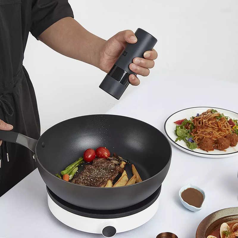 Регулируемая электрическая мельница Xiaomi Huohou 5 в 1 для соли, перца, специй, приправ, кухонные инструменты, измельчитель для приготовления пищи и ресторана
