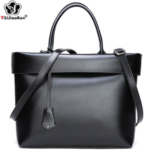 Vintage Tote Bag for Women Large Handbags Top-handle Bags Brand Leather Shoulder Bag Women Luxury Handbags Women Bags Designer цена и фото