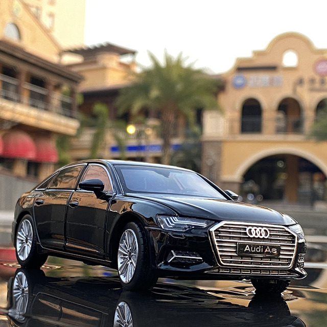 1:32 AUDI A6 Alloy Car Diecasts & Toy Vehicles Toy Car Metal Collection Model Car Model High Simulation Toys For Children Gifts 1