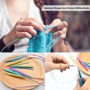 Image 3 - 13ペアアルミ変更ヘッド丸針リングセット実用的な経済フックツール縫製ツールアクセサリー