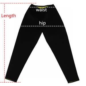 Image 5 - 2020 Women Slimming Pants Body Shapers Neoprene Sweat Sauna Fitness Control Panties Shapewear Tummy Waist Trainer Slimming Pants