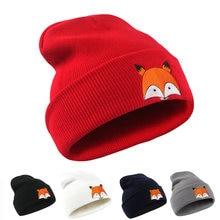 Новая модная женская Шапка бини из лисы зимняя теплая шапка
