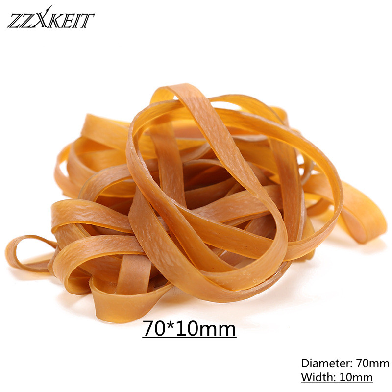 70*10mm High Elastic Round Elastic Band Rubber Band Elastic Cord for School Factory Package Supplies Accessories