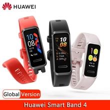 Huawei Band 4 Armband Smart Band Global Versie Bloedzuurstofverzadiging Hartslagmeter Fitness Tracker Usb Plug Opladen