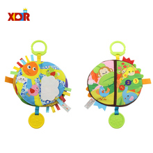 Soft Cloth Books Rustle Sound Infant Books Baby Books Quiet Books Early Educational Cognitive Development Toys for Newborn Baby