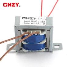 Núcleo de cobre de tensão, 2w ei ac 6v 9v 12v 15v 18v 24v saída transformador de energia de cobre de tensão dupla, entrada 220v 50hz ~ 60hz