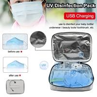 UV Desinfecção Pacote Garrafa de Leite Do Bebê Cueca Beleza Ferramentas Máscara Suprimentos Pacote Caixa de Esterilização escova de Dentes