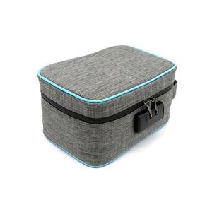 Image 3 - Odor Proof Stash Case Container For Herbs Medicine Lock Smell Proof Bag Box Bag Travel Storage Case