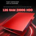 Gaming Laptop Ordenador Portatil Pc Tragbare 16G 512G GF940M Ehre Mcbook Leptop Eingestellt Notebook Gamer Korallen Silber Rot Laptop i7 & J4105