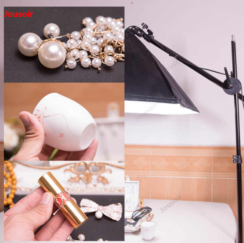 Multi-caméra téléphone portable universel support en direct double téléphone portable pour bijoux en direct jade dépassement de tir CD50 T07