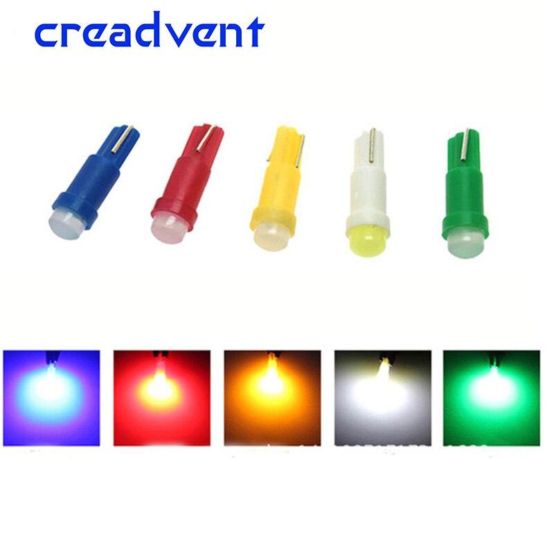 10 шт., светодиодные лампы T5 для чтения автомобильных дверей, 12 В