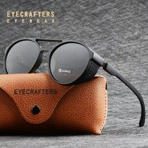 Image 3 - Óculos de sol polarizado tipo steampunk, óculos de sol da moda, polarizado, gótico, retrô, para homens e mulheres